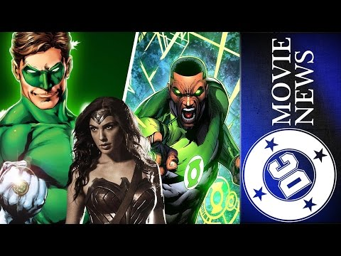 Green Lantern Corps Announcements, Wonder Woman Villain & More! - DC Movie News for Jan. 12th, 2017