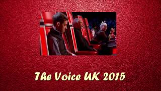 Paul Cullinan Sing Mustang Sally Blind Auditon 1 The Voice UK 2015