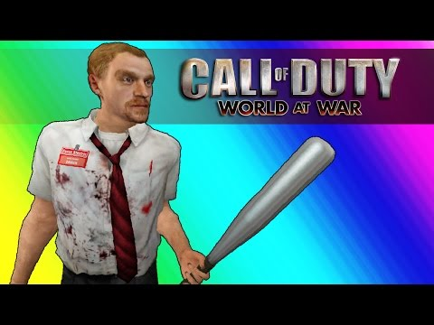 Thumbnail: Cod Zombies Funny Moments - The YouTube Mansion (Call of Duty World at War)