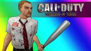 Cod Zombies Funny Moments - The YouTube Mansion (Call of Duty World at War)