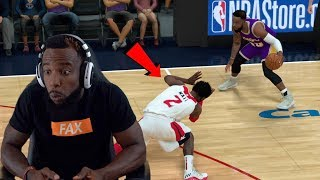 I BROKE JOHN WALLS ANKLES IN HALF! NBA 2K19 MyCareer Ep 115