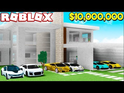 Download BUILDING MY $10,000,000 DREAM HOUSE IN ROBLOX!