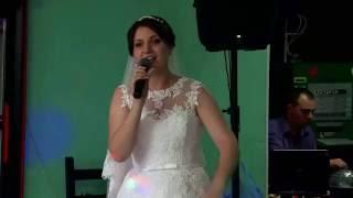 Песня от ЛЮБИМОЙ на свадьбе!!!