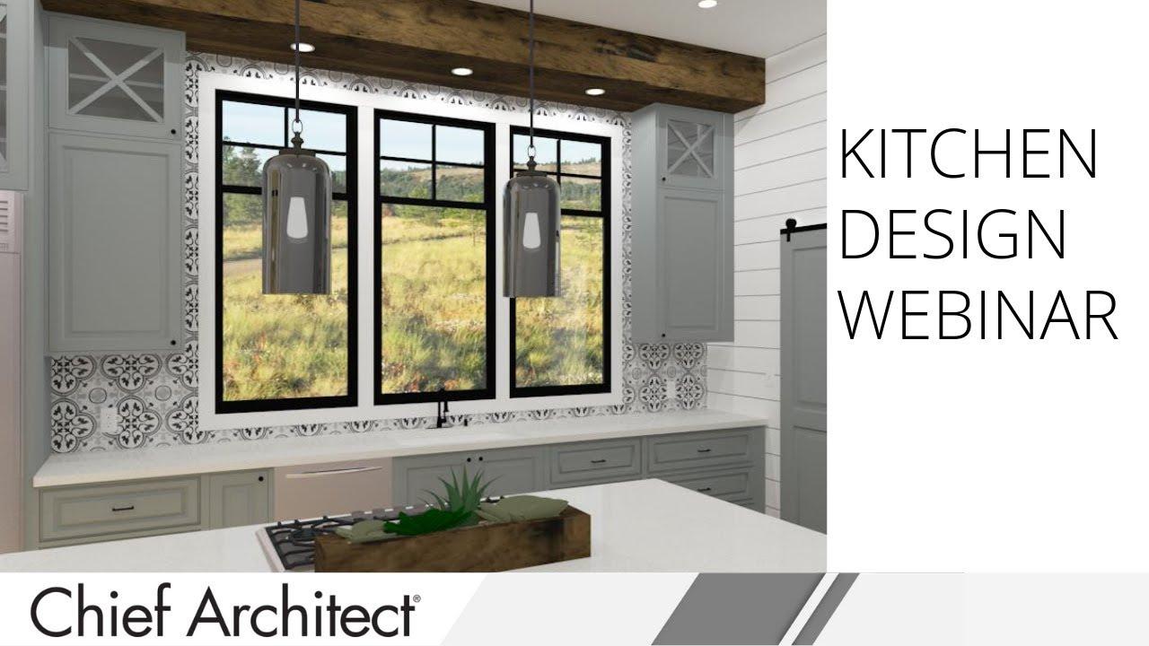 #ChiefArchitect #CustomKitchen #KitchenDesign