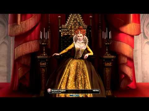 Civilization V Leader | Elizabeth of England