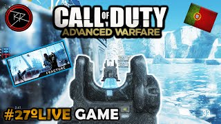 "#27º ""FRACTURE"" LIVE Multiplayer Gameplay  no 4º DLC RECKONING do CoD: Advanced Warfare (PT-BR)"