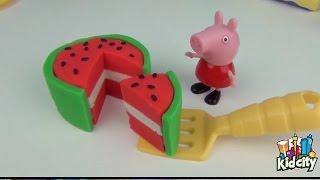 粘土 ✪✪✪ 漫画のキャラクターのpeppa豚とベビーコレクションスクイズおもちゃ ✪✪✪ 粘土のおもちゃ