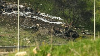 Israel jet crashes after 'Iranian targets' attacked in Syria