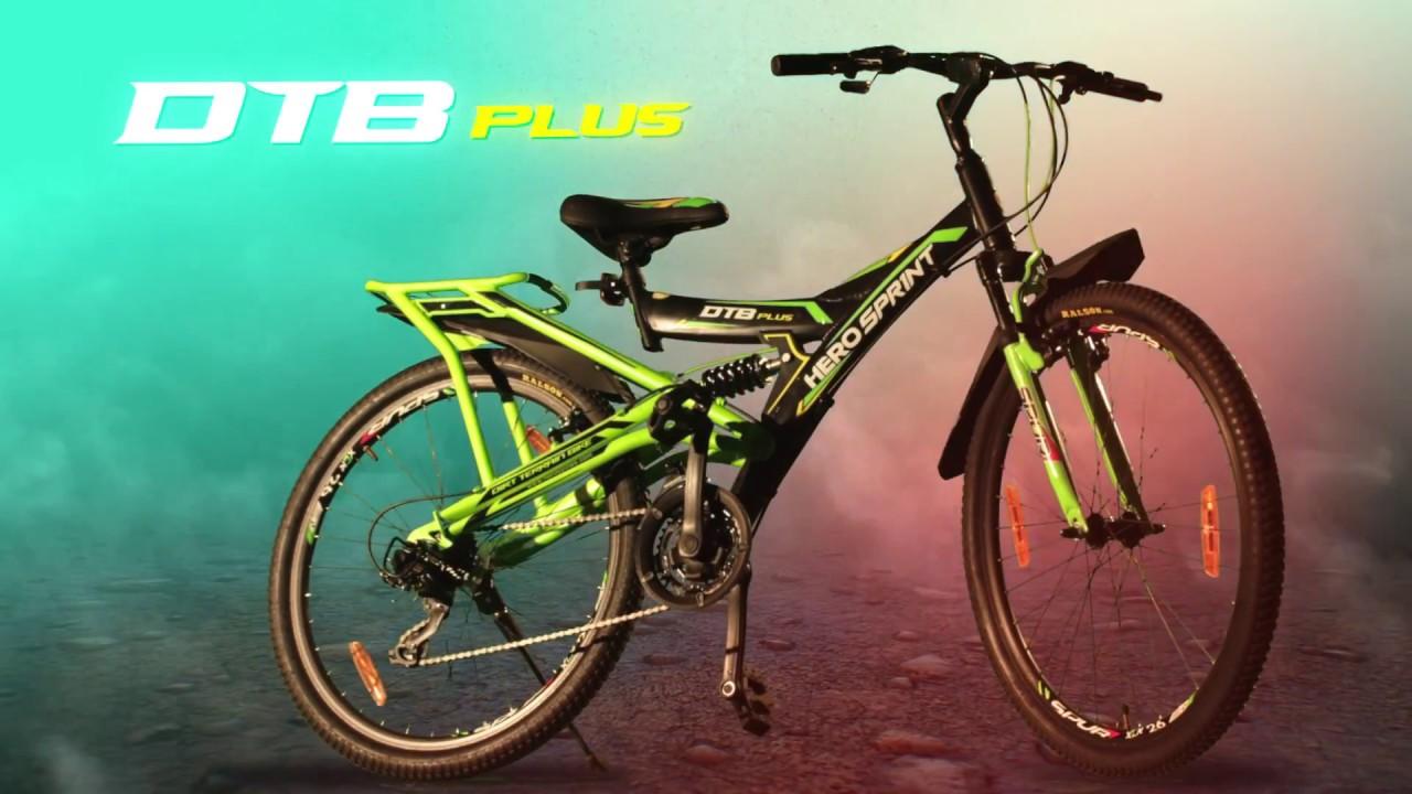 f1e93b9b29c HERO Sprint DTB Plus. Hero Cycles
