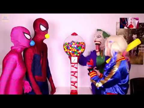 hoạt hình siêu nhân cuộc hành trình người nhện và nữ hoàng băng giá tập 3