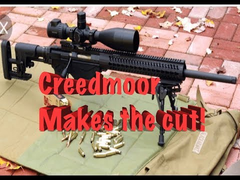 USSOCOM going with 6.5 Creedmoor Officially!