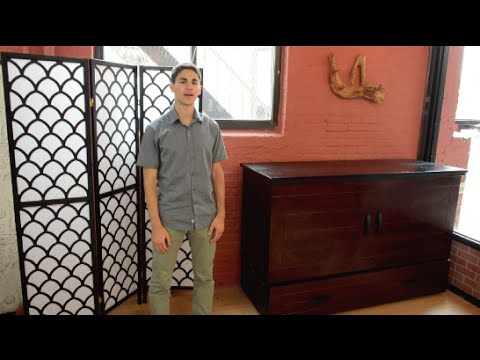 Murphy Cabinet Bed Review Youtube