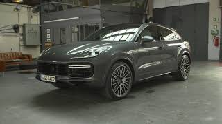 Porsche Cayenne Coupe and Cayenne Turbo Coupe stills