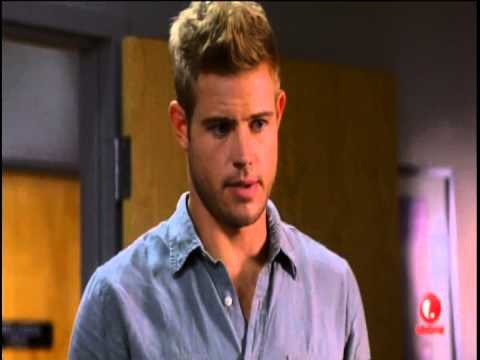 Trevor Donovan in his blue undies