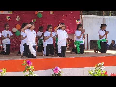 Teri Mitti Hv Dance💃 Radha Govind SR. SEC Public School Ramgarh Jharkhand India🇮🇳🇮🇳👳