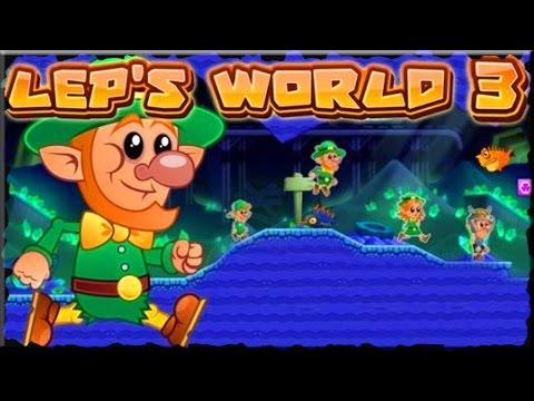 Lep's World 3 Game World 1 (Mobile Game)