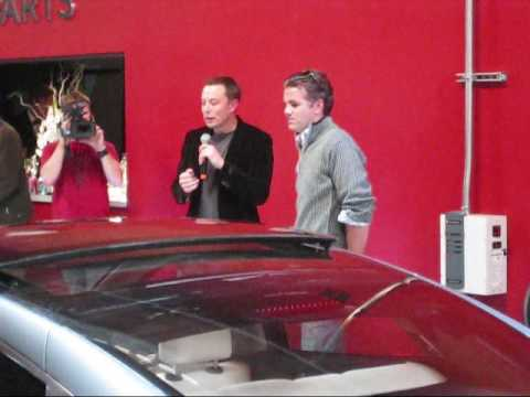 Tesla Menlo Park Model S unveiling Part 1
