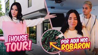 HOUSE TOUR EN LA CASA DONDE NOS ROBARON 😰 Kimberly Loaiza