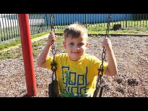Видео, Vlog Как выглядит Детская Площака в Америке  Сhildren playing at the playground