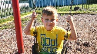 Vlog Как выглядит Детская Площака в Америке / Сhildren playing at the playground