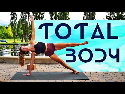 Total Body Yoga Workout (Burn!) Let's Build That Heat