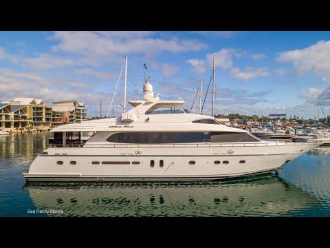 Boat Sales @ Sea Renity Marine Monte Fino Yacht For Sale Perth Western Australia 1,900,000.
