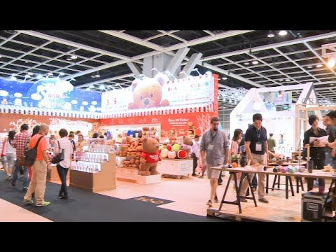 Hong Kong Welcomes World's Largest Gifts Fair