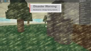 Roblox - Desastre Natural - 034