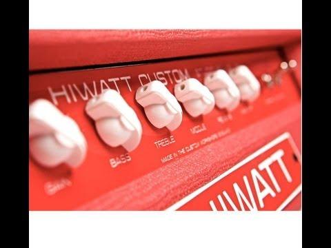 Hiwatt Stage Studio 212 combo demo