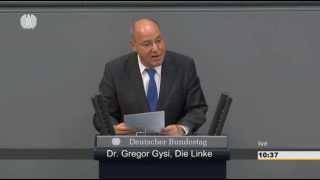 Gregor Gysi: Ihre Politik ist unsozial, undemokratisch und antieuropäisch 17.07.15 - Bananenrepublik