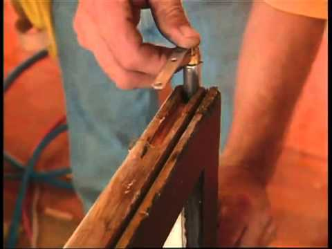 Restoring Old Double-Hung Windows using Spring-Loaded Balances
