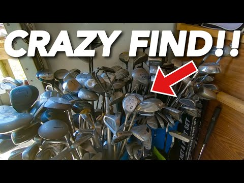 We ALWAYS Find EXPENSIVE Golf Clubs At THIS Thrift Store!!