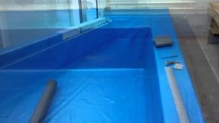 Реставрация бассейна в детском саду(В этом видео показан поэтапный ремонт бассейна в детском саду, методом укладки ПВХ мембраны., 2016-02-16T16:47:59.000Z)