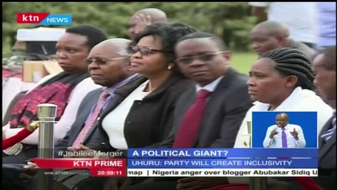 Birth of a political giant in Kenya as 12 political parties merge into JAP