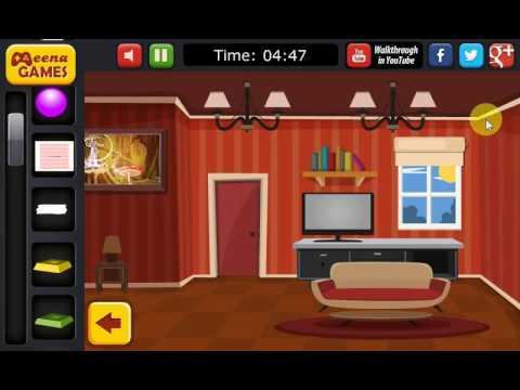 Cartoon House Escape Game Walkthrough Youtube