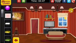 Cartoon house escape Spiel walkthrough