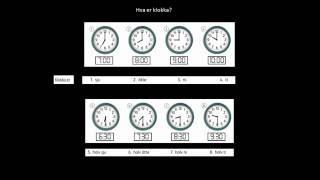 10-11  Hva Er Klokka   Når