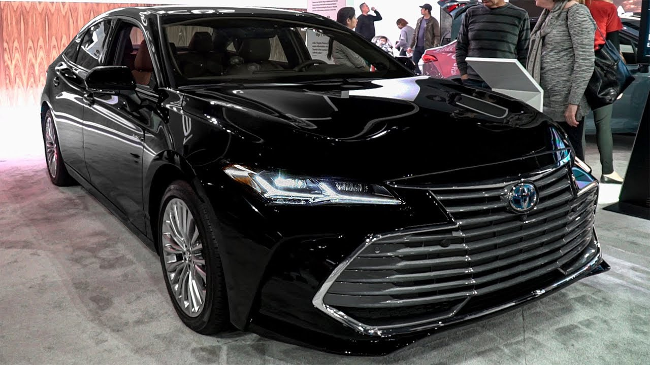 toyota avalon  2021  limited hybrid - interior and exterior design