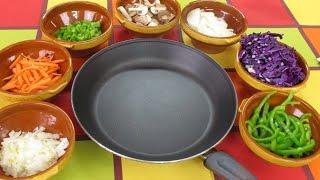 Como saltear verduras  Trucos para hacer un salteado de verduras