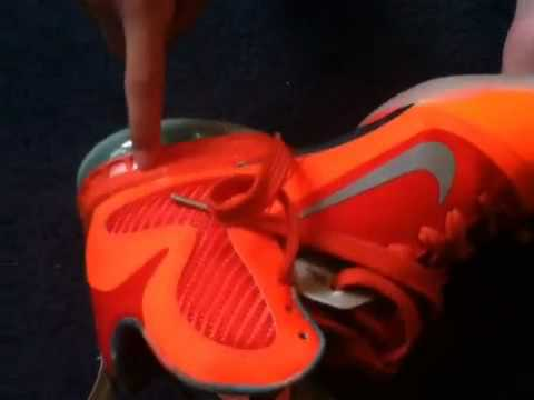 7db7e763e7b Difference between fake and real lebron 9 s Galaxy - YouTube