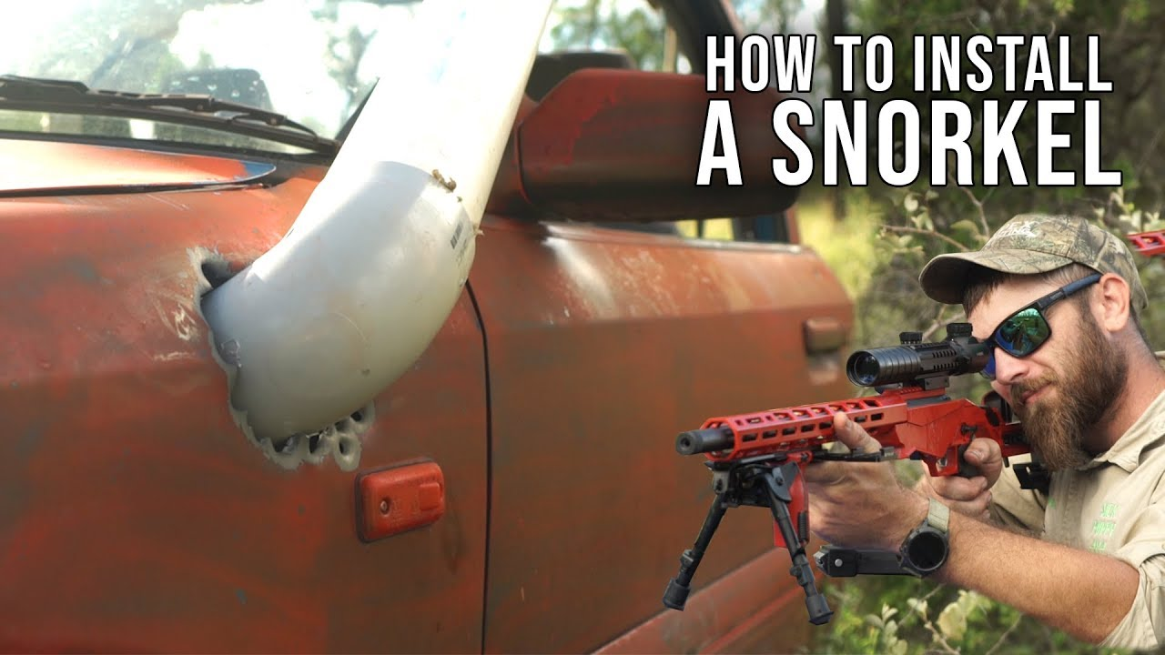 HOW TO INSTALL A SNORKEL... Sick Puppy 4x4 Style