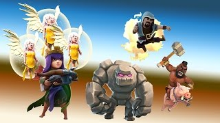Queen Walk GOWIHOG 100% sur HDV 9 max | TUTO - Top compo GDC Clash of Clans