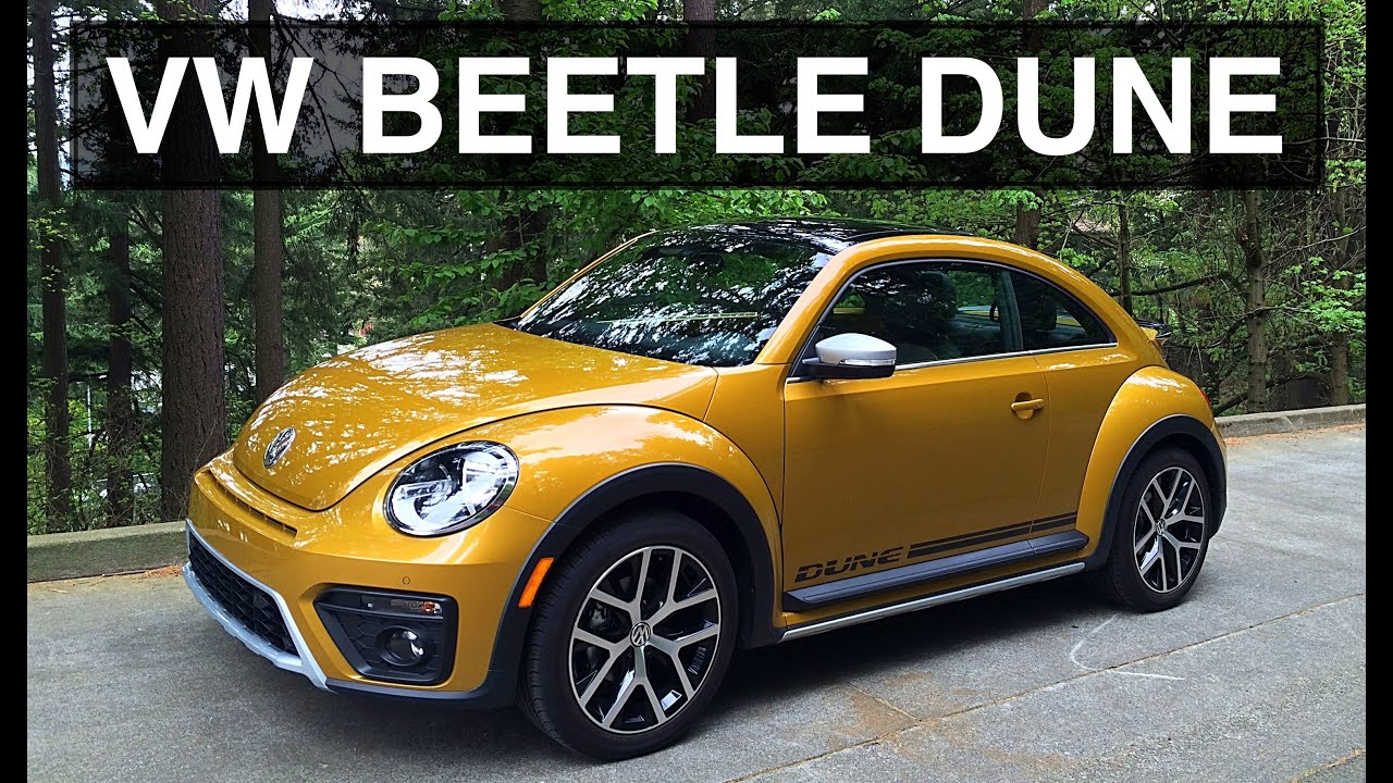 Vw Beetle Test >> 2016 Vw Beetle Dune Review Test Drive Youtube