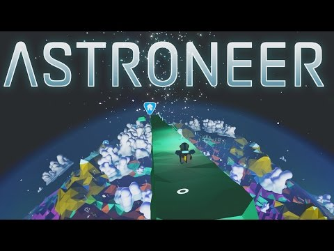 Astroneer - Ep. 13 - Space Surfing from Bridge to Moon! - Let's Play Astroneer Gameplay