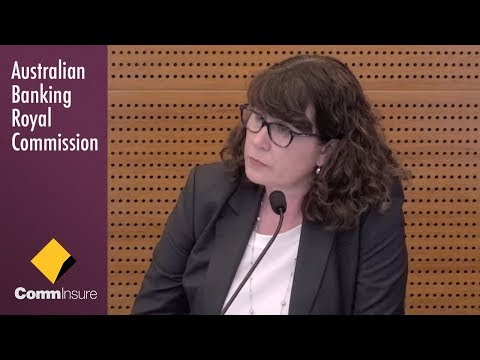 The Head of CommInsure testifies at the Banking Royal Commission