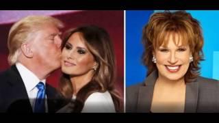 Joy Behar Says Melania and Donald Need A DIVORCE - They