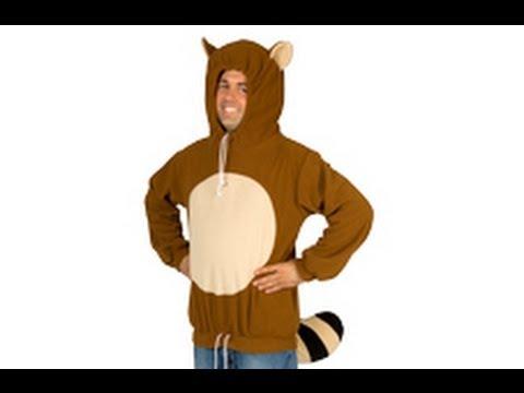Racanooki Costume Hoodie