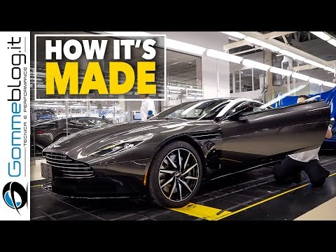 2018 Aston Martin DB11- Luxury CAR FACTORY - HOW IT'S MADE Manufacturing Production Assembly Line