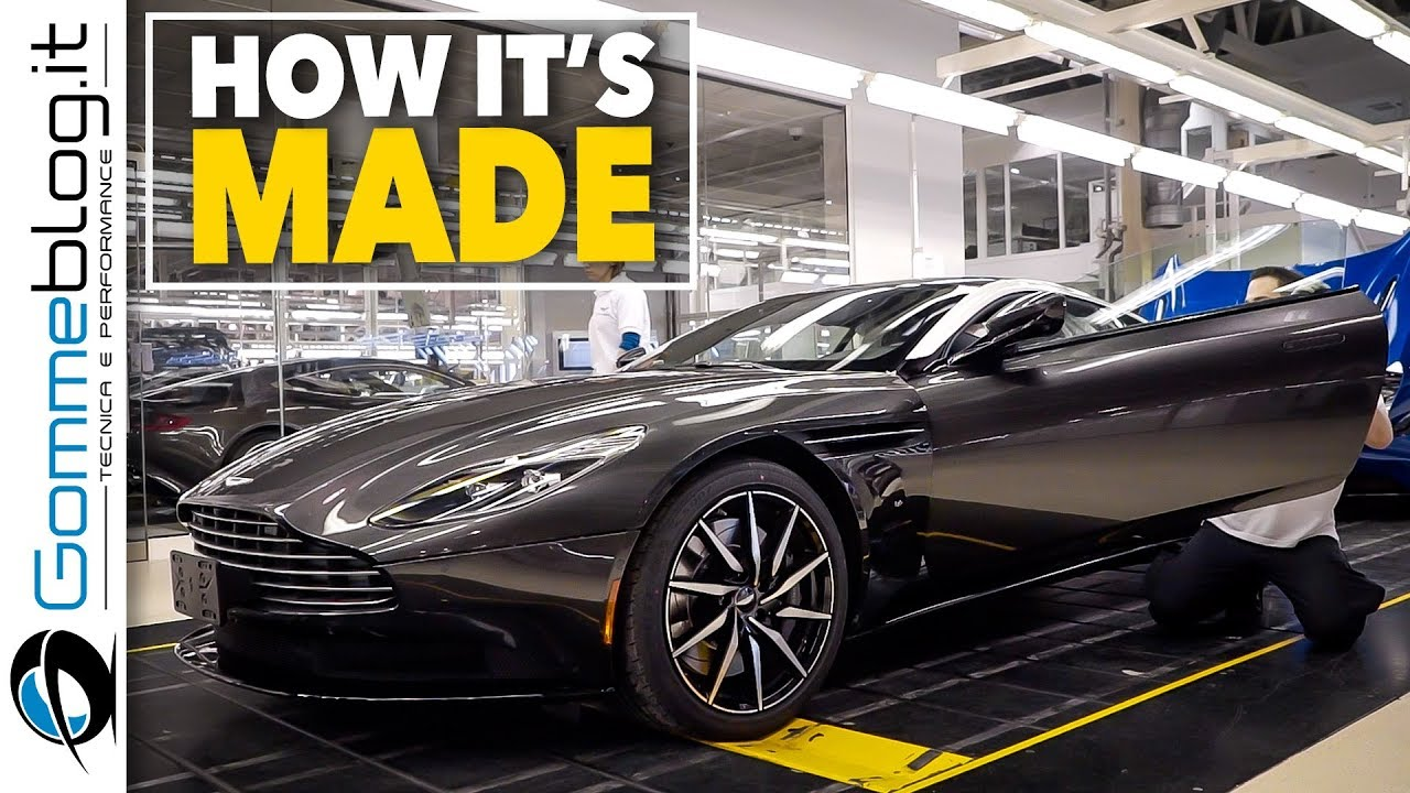 2018 Aston Martin Db11 Luxury Car Factory How It S Made Manufacturing Production Assembly Line Youtube