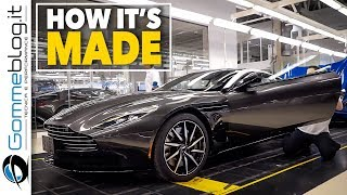 2018 Aston Martin DB11- Luxury CAR FACTORY - HOW IT